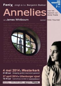 Afbeelding: FeniX zingt Annelies in Amsterdam