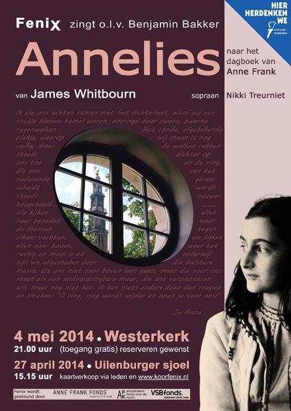 Flyer concert Annelies