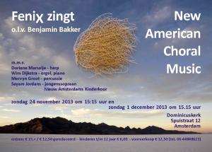 FeniX - New American Choral Music